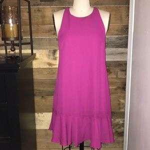 NWT! Lucca Couture Pink/Rose Racerback Dress!